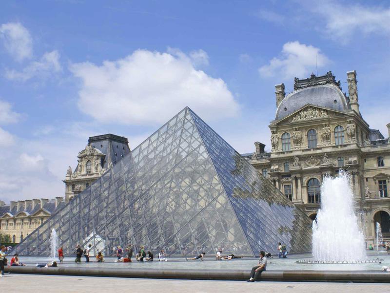 法国特色建筑简笔画